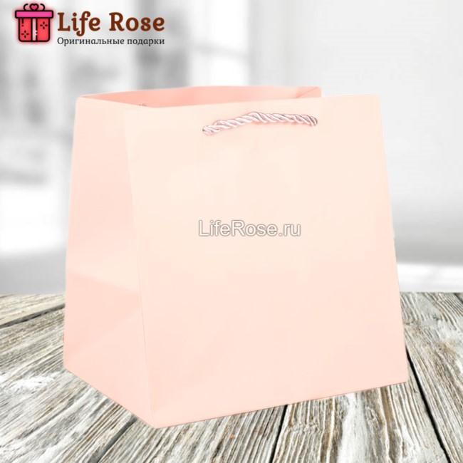 Подарочный пакет Нежно-розовый