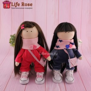 Авторские куклы Сестренки