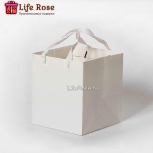 Подарочный пакет Белый