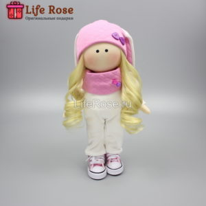 Кукла ручной работы Амина – НА ЗАКАЗ