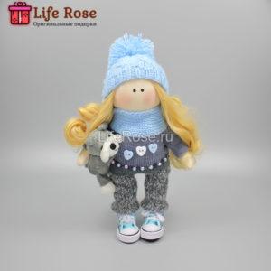 Кукла ручной работы Тина – НА ЗАКАЗ