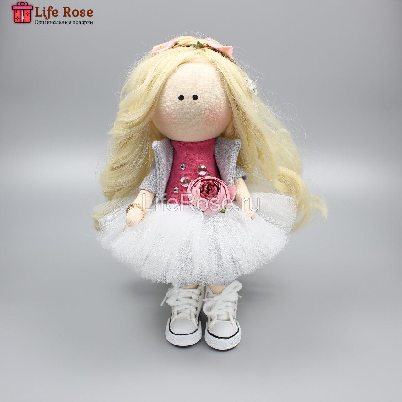 Кукла ручной работы Элина - НА ЗАКАЗ