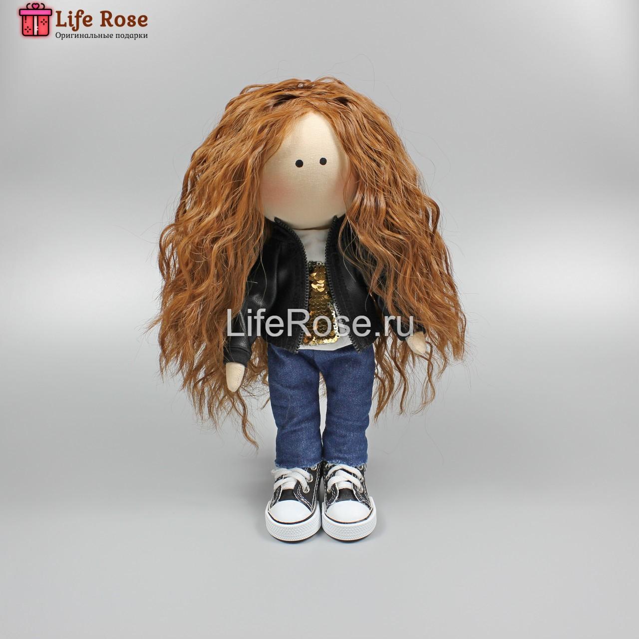 Кукла ручной работы Лейла