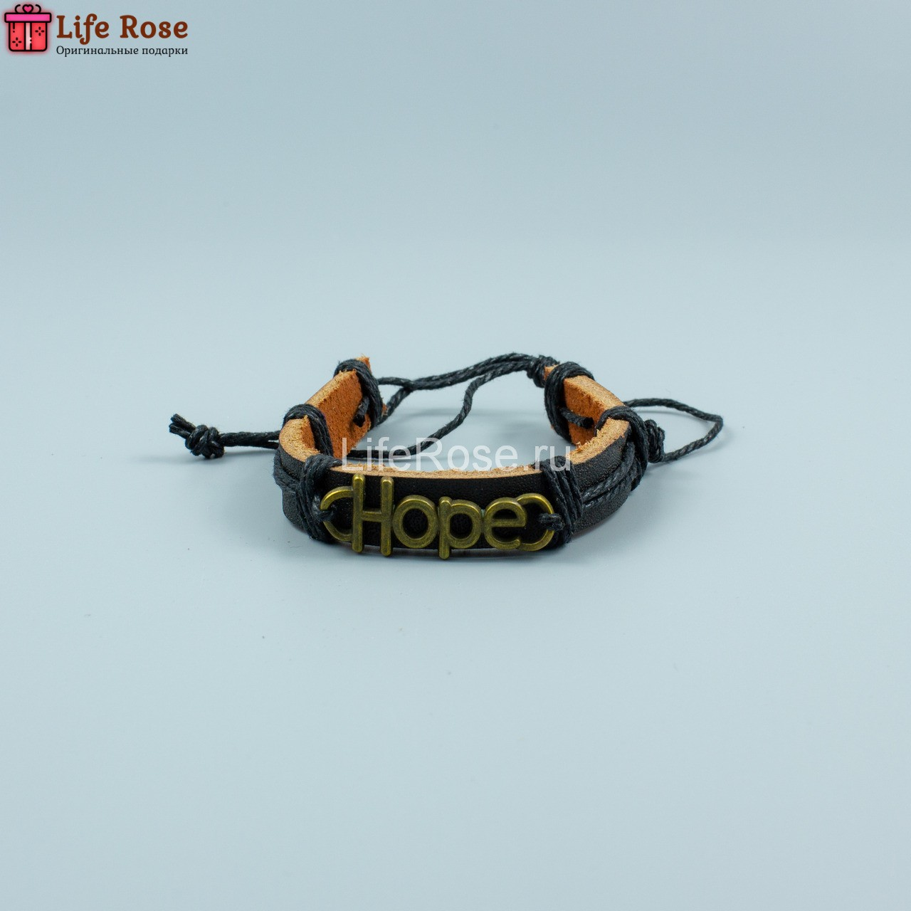 """Браслет Кожаный """"Hope – надежда"""""""